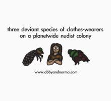 Deviant Clothes-Wearers by Erika Hammerschmidt