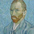 Vincent Van Gogh - Self-Portrait by skyeaerrow