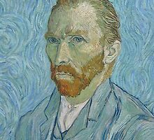 Vincent Van Gogh - Self-Portrait by skyeaerrow