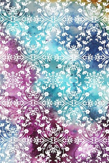 Motif pattern_rainbow by Kanika Mathur