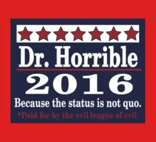 Vote dr. horrible 2016 by Brantoe