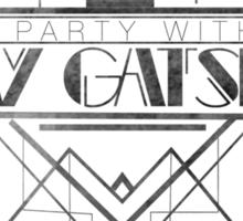 Party Like Gatsby Sticker