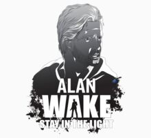 Alan Wake stay in the light by InvisibleRain