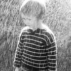 Child in rain part two. by juliaweston