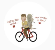 the walking dead heart/bike T-Shirt
