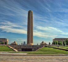 Liberty Memorial Monument - Kansas City. by TeeMack