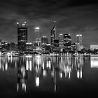 Perth City Skyline by Jan Fijolek
