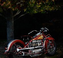 1939 Indian Four by Frank Kletschkus
