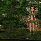 Forest Elf Girl by Vac1