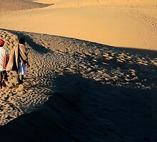 Crossing the great sands  by areyarey
