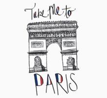 Take Me To Paris by Crystal Friedman