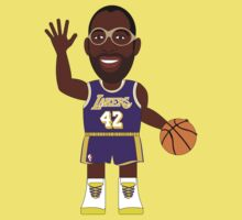 NBAToon of James Worthy, player of Los Angeles Lakers by D4RK0