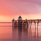 Clevedon Pier Sunset by Gary Clark