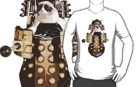Grumpy Dalek - Exterminate Everybody by GinHans
