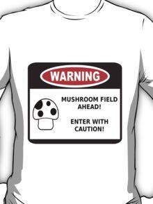 Mushroom Field! T-Shirt