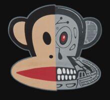 Alien Monkey face logo by DaWombat