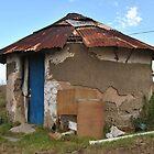 African Hut 2 by Eldon Mason