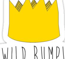 Let The Wild Rumpus Start Sticker