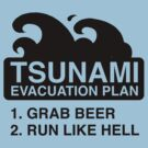 Tsunami Evacuation Plan by BrightDesign