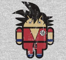 Goku from Dragonball goes Google Android Style! Kids Clothes
