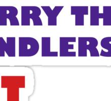 Archers Marry Their Handlers Sticker