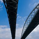 Blue Water Bridge by Joann Copeland-Paul