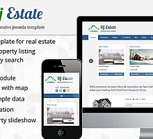 Mj Estate - Responsive Real Estate Joomla Template by Montupatel