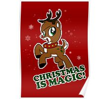 Christmas Is Magic Poster