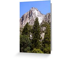 Yosemite Greeting Card