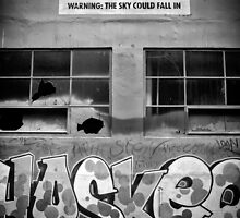 Warning: The Sky Might Fall In. by Nick Egglington