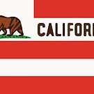 United States of California Flag by jerasky
