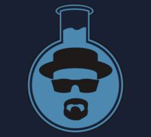 Heisenberg Blue (large logo) by Azrael