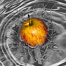 Apple Splash by Glen  Robinson