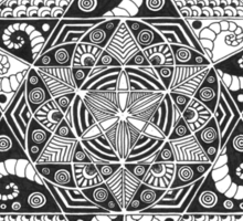 Mandala 4 Sticker