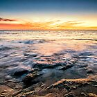 Point Peron Sunset by Glen  Robinson