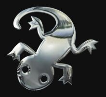 Gecko in Silver Chrome by Chromed