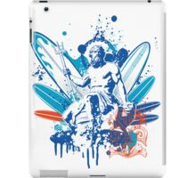 poseidon surfer 4  iPad Case/Skin