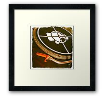 Decks Framed Print