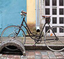 bike on the lock by mrivserg