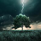 Thunder and lighting by jordygraph