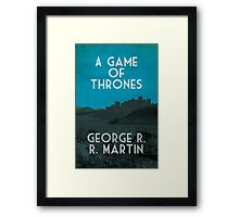 A Game of Thrones Framed Print