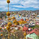 Midday View Guanajuato Cityscape by Alejandro  Tejada