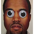 Kanye West Google Eyes T Shirt by crookiid