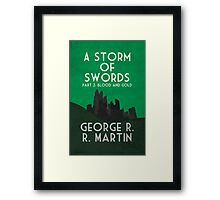 A Storm of Swords Framed Print