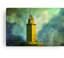 Tower of Hercules Canvas Print