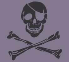 Skull and Crossbones by rawrclothing