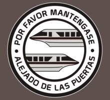 Por Favor Monorail Black by AngrySaint
