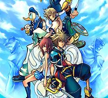 Kingdom Hearts 2 by Sora13