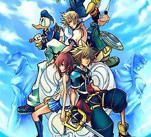 Kingdom Hearts 2 by Sora13