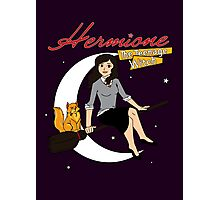 Hermione the Teenage Witch Photographic Print
